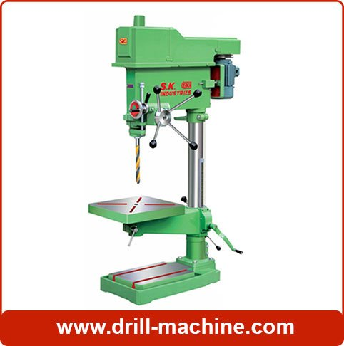 Drilling Machine, 25mm Pillar Drill Machine manufacturer in Ahmedabad, India